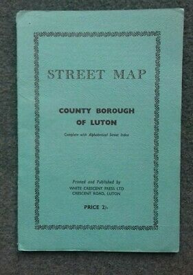 County Borough Of Luton Vintage Map