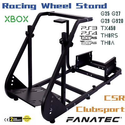 Racing Simulator Cockpit, Steering Wheel Stand for LogitechG25/G27/G29/G920/T300
