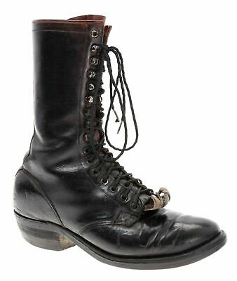 5a24ae8df98 409$ MENS SIZE 8.5D - Drews Boots Cascade Packer Western Lace Up ...
