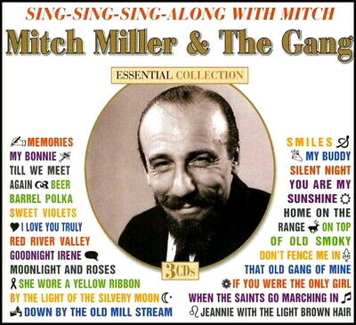 MITCH MILLER  * 67 Greatest Hits * 3-CD BOXSET * All Original Songs * NEW