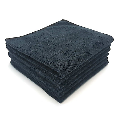 MaxLit Premium Microfiber Cloth - Pack of 6 Best Cleaning Towels for Fine Car &