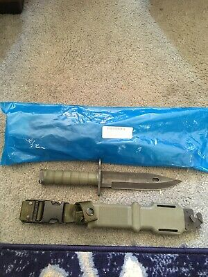 USGI M9 Bayonet  Brand New in Orginal factory package. USA made Tri-technologies