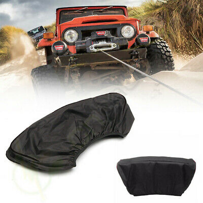 Waterproof 600D Winch Cover -Fits 12000 LBS Capacity Winches and Others