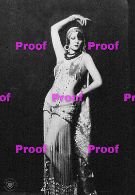 VINTAGE Hollywood Starlet SHOW GIRL BELLY Dancer Photo Photograph REPRINT 20