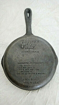"Wagner Cast Iron 1891 8"" Skillet USA"