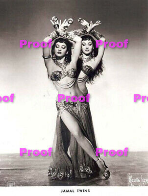 VINTAGE Hollywood Starlet SHOW GIRL BELLY Dancer Photo Photograph REPRINT 34