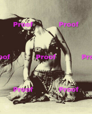 VINTAGE Hollywood Starlet SHOW GIRL BELLY Dancer Photo Photograph REPRINT 40