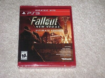 Fallout New Vegas Ultimate Edition...ps3...***sealed***brand New***!!!!!!