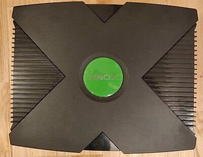 Original Xbox - Black - 500GB Hard Drive, Soft Modded (Console Only)
