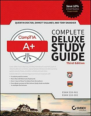 CompTIA A+ Complete Deluxe Study Guide🔥INSTANT Delivry📩
