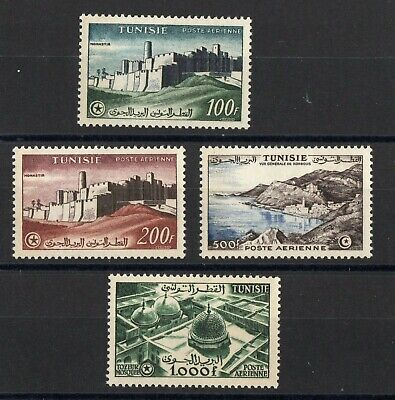 TUNISIE: SERIE COMPLETE DE 4 TIMBRES P.A. NEUF* N°22/25 Cote: 38,00 €