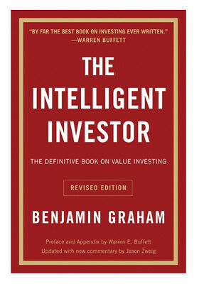 The Intelligent Investor: The Definitive Book on Value Investing Paperback Book