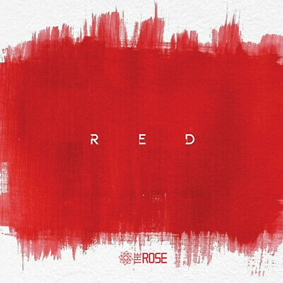 THE ROSE [RED] 3rd Single Album CD+POSTER+2p Photo Card+16p Inner Card SEALED