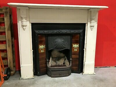 Victorian Fireplace and Mantlepiece Federation