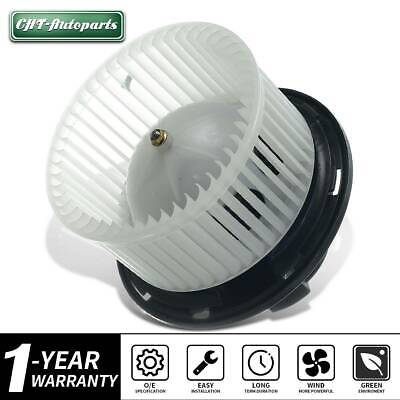 Heater Blower Motor with w// Fan Cage ABS plastic for Jeep Wrangler Liberty Front
