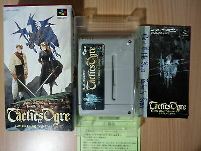 TACTICS OGRE + Ogre Battle PlayStation 1 PS1 Collectors