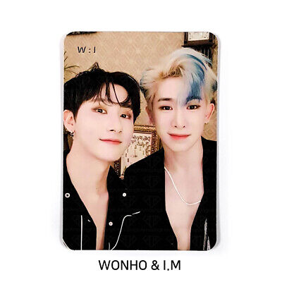 MONSTA X - 2nd Album Take.2 'We Are Here' Official Photocard - UNIT W:I