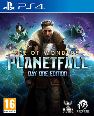 Age of Wonders Planetfall Day One Edition (PS4)  BRAND NEW AND SEALED - IN STOCK