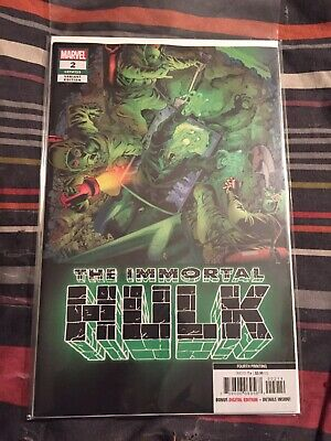 The Immortal Hulk #2 1st Dr Frye 4th Print Limited Print Run [Marvel, 2019]
