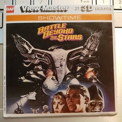 L16 Battle Beyond the Stars Sci-Fi Movie Richard Thomas view-master Reels Packet