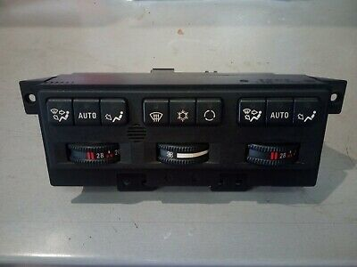 BMW E31 8 SERIES Air Conditioning Control Panel 64111392170