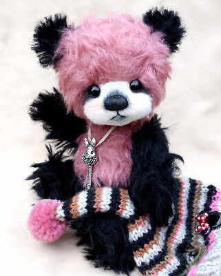 "Luciebears ""Molly"" Small Artist Bear OOAK 7.5"""