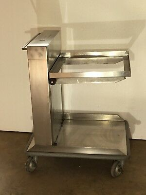 AMF Lowerator Tray Plate Glass Dispenser Stainless Steel NEW SAVE$$$