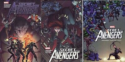 SECRET AVENGERS Vol 1-3 Rick Remender HC Hardcover Set (Sealed)