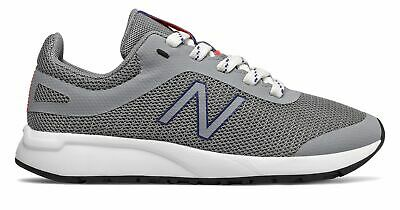 New Balance Kid's 455v2 Big Kids Male Shoes Grey with Blue