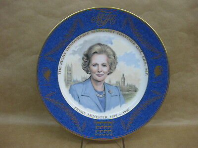 Margaret Thatcher The First Lady Of Downing Street Aynsley Fine Bone China Plate
