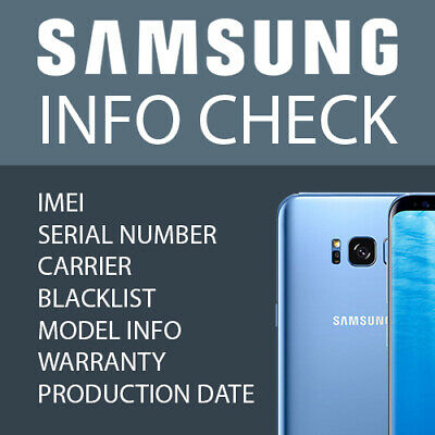Check SAMSUNG INFO FAST -IMEI /MODEL/CARRIER/BLACKLIST STATUS ETC.