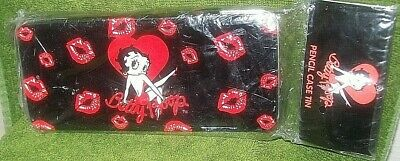 Betty Boop Pencil Case Tin, Mint in Packaging