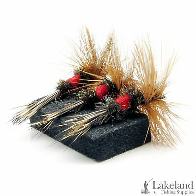 3, 6 or 12x Royal Wulff Dry Trout Flies for Fly Fishing