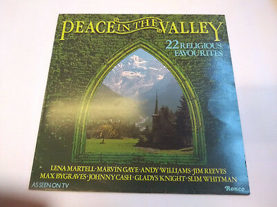 """RTL 2043 Peace In The Valley - Various 12"""" Vinyl LP Ronco 1979"""