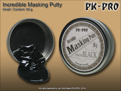 Incredible Masking Putty Panzer Putty Black 80g  (16,19 EUR/100 g)