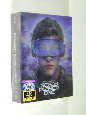 Ready Player One 4K UHD + 3D/2D Blu-ray Steelbook Filmarena FAC