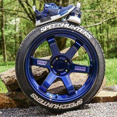 Tire Lettering Speedhunters stickers kit1.25 inch'-15''16''17''18'19'20 (8  KİT)