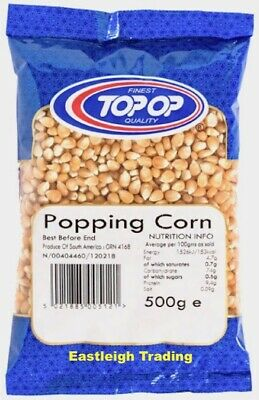 POPCORN Pop Corn Maize Seeds Kernels 500G £3.29 / 2KG £7.75 / 22.68KG BAG £69.75