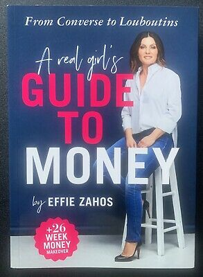 NEW A Real Girl's Guide to Money By Effie Zahos Paperback Free Shipping
