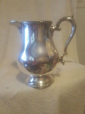 "Vintage Wallace Georgian Silver 8.5"" inch high Water Pitcher M601"