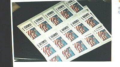 5 USPS Forever Certified Flag Stamps  $2.50