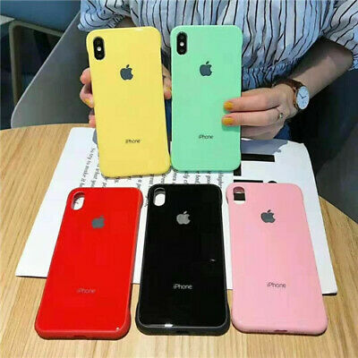 Ultra Thin Tempered Glass Frameless Case Cover For iPhone X XR XS Max 8 7 6 Plus