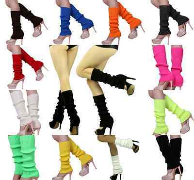 Women Winter Warm Knit Crochet High Knee Leg Warmers Leggings Boot Socks Slouch
