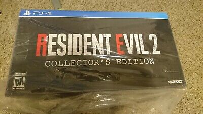 RESIDENT EVIL 2 Remake Collectors Edition (PS4) Brand new