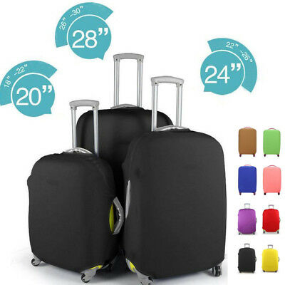 Elastic Luggage Suitcase Dust Cover Dustproof Protector Anti Scratch Solid