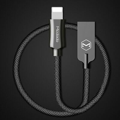 MCDODO 1.2M 8-Pin Fast Rapid Charging Cord Wire Cable For iPhone 8 7 7s 6s Plus