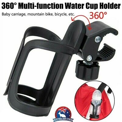 Universal Milk Drink Bottle Coffee Cup Holder for Baby Stroller Pram Bicycle AU