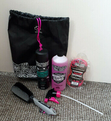 Muc-off Motorcycle Essentials kit- NO OUTER BOX