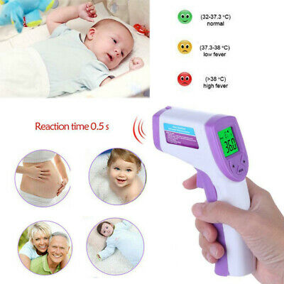 Handheld IR Infrared Digital Termometer Non-Contact Baby/Adult Body Thermometer
