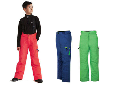 Dare2b Spur On Kids Boys Girls Waterproof Breathable Ski Trousers Salopettes